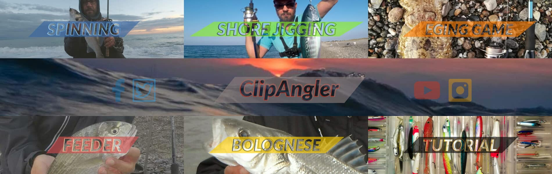 Clipangler – Spinning Pesca Mare