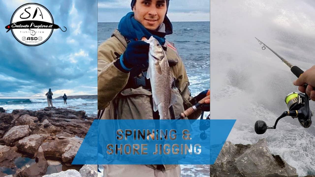 spinning & shore jigging in puglia
