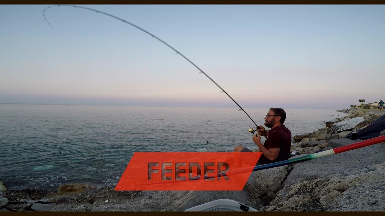 feeder in mare una pescata tranquilla